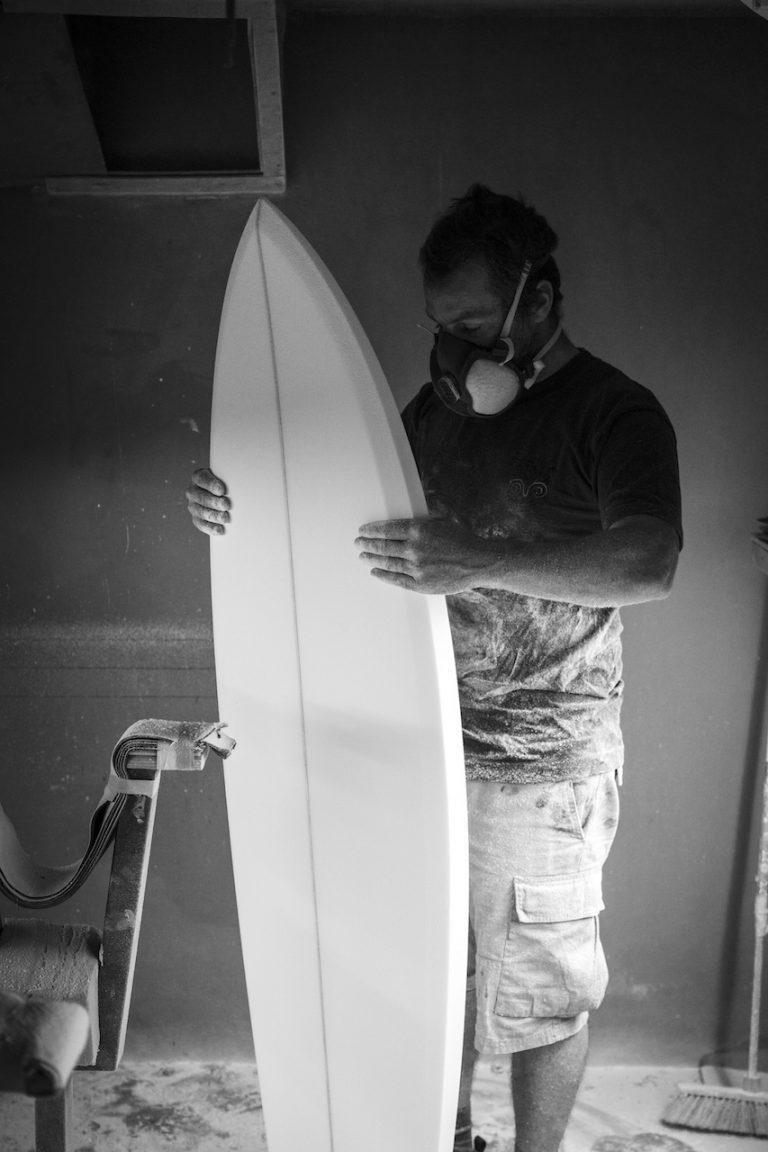 Surfboard Blank Shaping