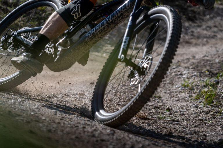 Detailaufnahme eines MTB - Chris Gollhofer Action Photography Mountainbike Slowenien Chris Gollhofer