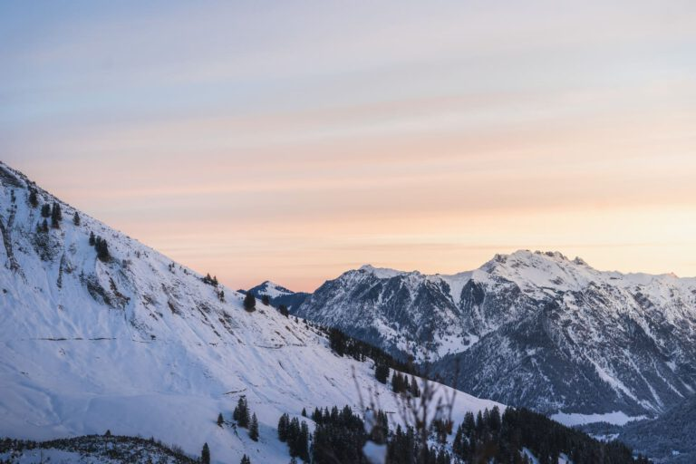 Sonnenaufgang in den Allgäuer Alpen