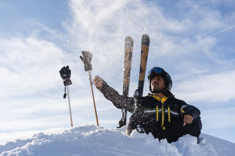 Bogner Fotoshooting in Sölden - Chris Gollhofer Lifestyle Fotografie